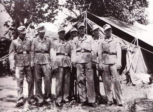 WW2 German Italian troops made SS tunic