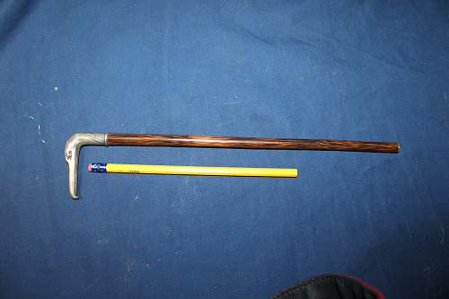 Help to ID SS Swagger stick. Real or not?