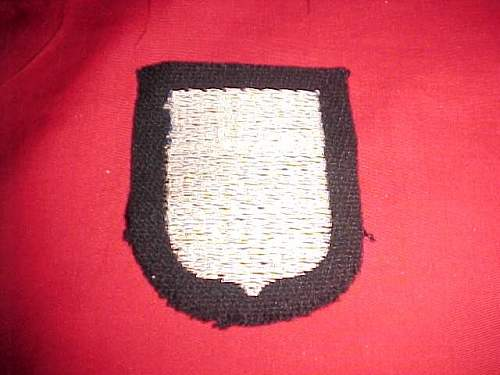 SS volunteer insignia