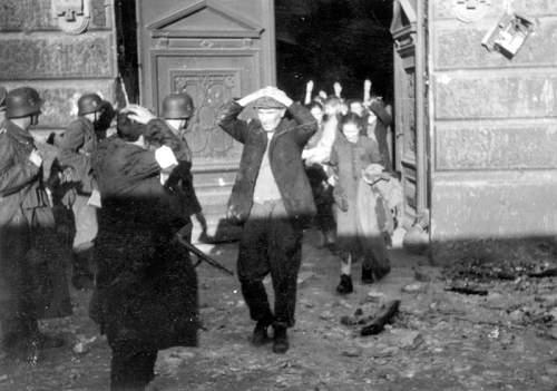Suppression of the Warsaw Ghetto Uprising 1943