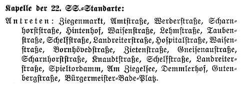 Gau Mecklenburg-Luebeck -Gautag 1935- Schwerin 1 und 2 Juni