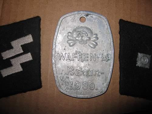 What is it?  Waffen SS Berlin 1939 w/ totenkopf