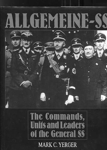 Allgemeine SS insignia, the Delich treasure trove opens its portals.....