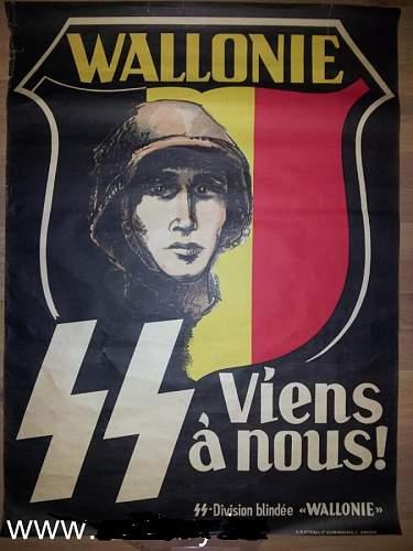 Waffen - SS Legion Volontarie WALLONIE Armband