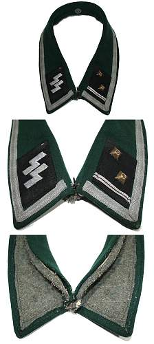 Shocking cut off insignia set