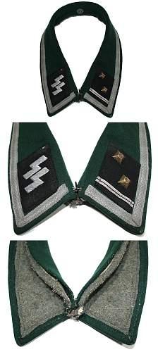 Shocking cut off insignia set