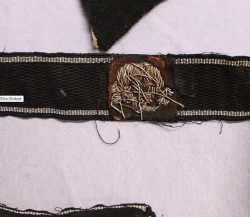 SS Totenkopf cuff title! Original or Fake