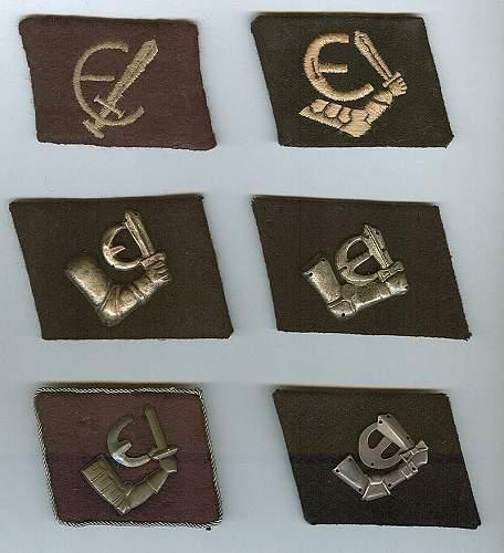 Delich Treasures. Estonian Insignia