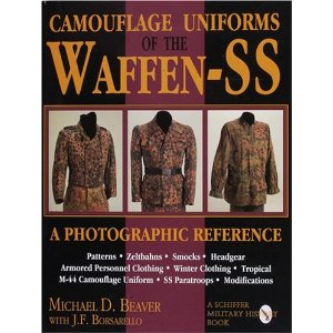 Book- Camouflage Uniforms of the Waffen SS - M Beaver