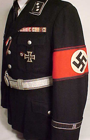 slanted pockets on SS Allgemeine tunic ?