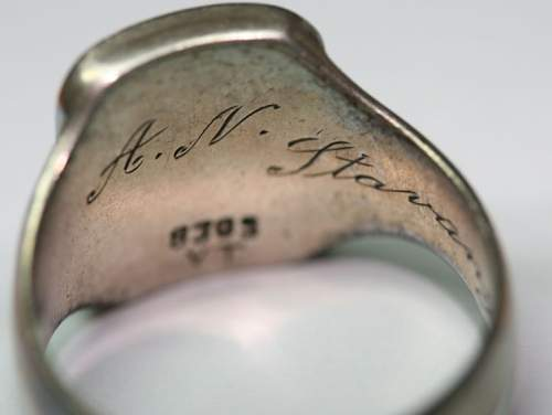 Private Purchase SS Ring - Norge 1940