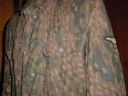Waffen SS model 44 erbsenmuster jacket