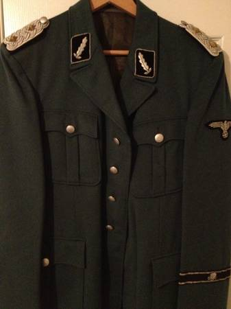 SS Standartenfuhrer jacket for opinions