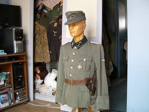 Waffen SS officer found in Normandy and other