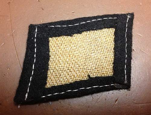 Italian Waffen-Grenadier-Division SS Collar Tab