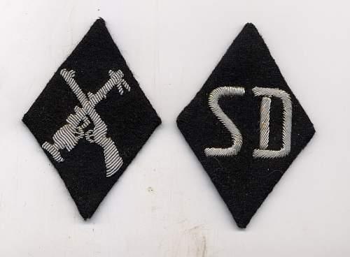 Armourer and SD sleeve diamond