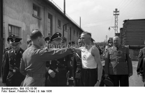 May  1936 visit of Hess & Himmler to M-Freimann  & Dachau and....