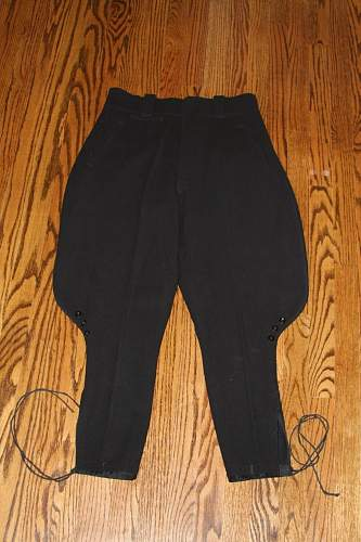 SS Breeches with tag. Your opinions please