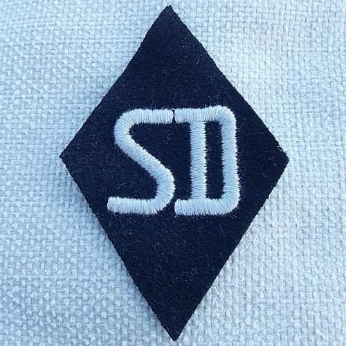 SD sleeve diamond with tag