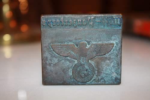SS Panzer stamp