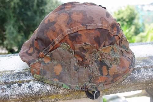 sad camo ss helmet cover