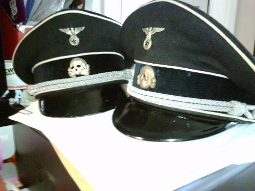 ss nco visor hat (new to the forum first post)