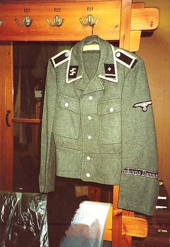 Danish SS items via David Delich