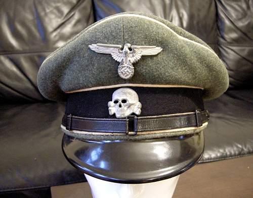 grey cap with runic interior