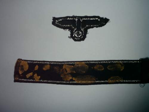 SS Eagle with Germania Cuff Title, Opinions please.