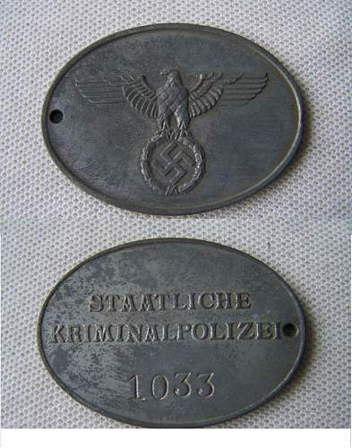 Gestapo Badge - Real or Fake