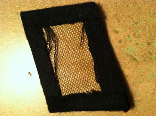 SS Collar Tab Real or Fake?