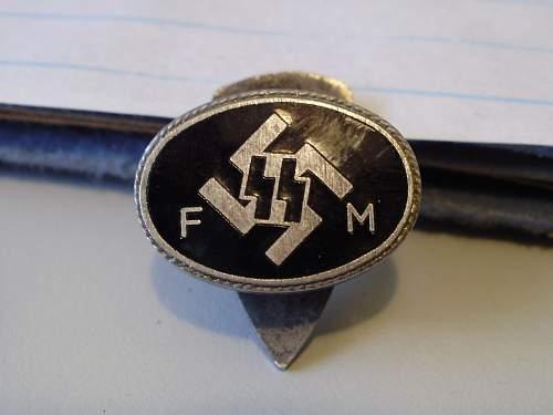 SS member/donation badge