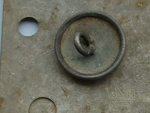 Totenkopf button