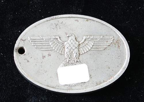 Gestapo Warrant Disc