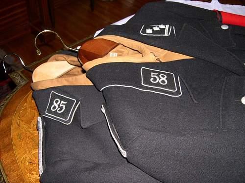 SS Standarte 58 Collar Tab