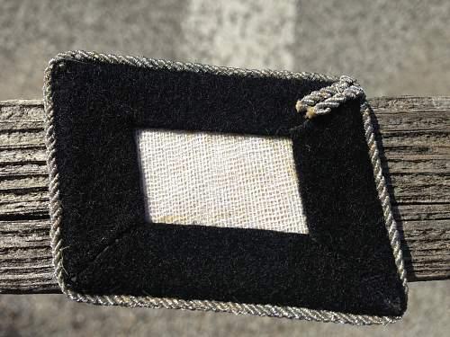 SS Officer collar tab set...