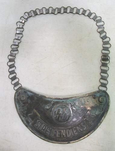 SS Gorget real or fake?????