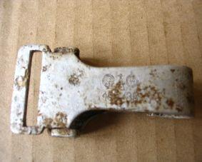 SS Belt cross strap clip