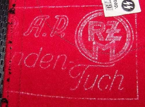 Mint SS Armband w/Cloth Stamp &  RZM Tag!