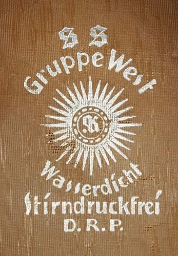 SS Gruppe West tinnie