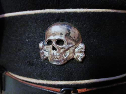 Black Enlisted SS Cap