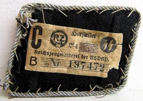 Shoulderboard for Allgemeine SS