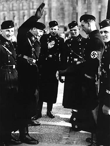 early SS Black Feldmutze- authentic?