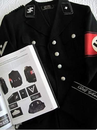 Leibstandarte Adolf Hitler Officer 'Flatwire' Cufftitle Prices