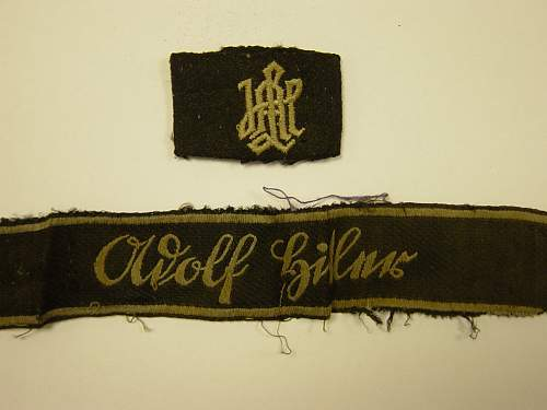 LAH Cufftitle and slip on shoulder title