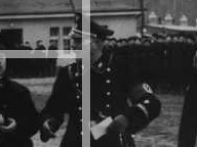 SS StandartEnfuhrer black dress uniform