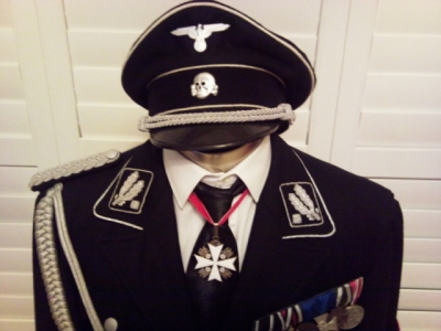 shoulder board on black overcoat dress and shoulder board ss on black tunic (M32) what the different ??? tell me please