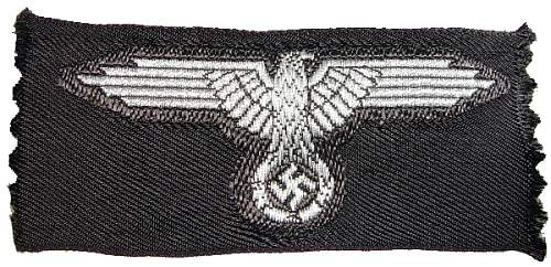 SS Officer's Cap Eagle
