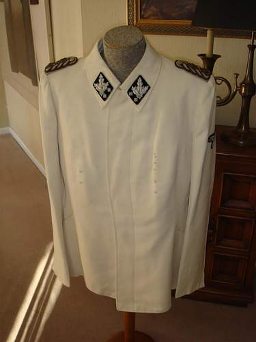 General's White Uniform