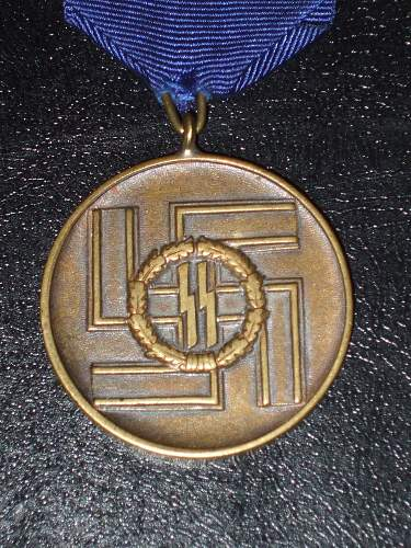 8 Year Service Medal